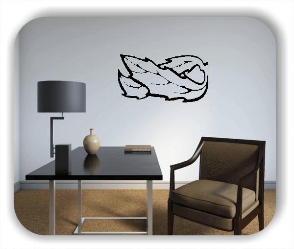 Wandtattoo - Natur Ornamente - ab 50 x 25 cm - Motiv 89
