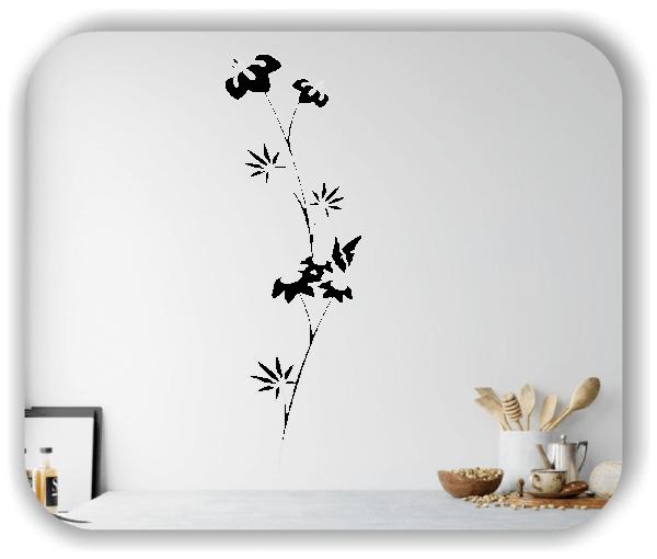Wandtattoo - Japan Floral - ab 20x60 cm - Motiv 3275
