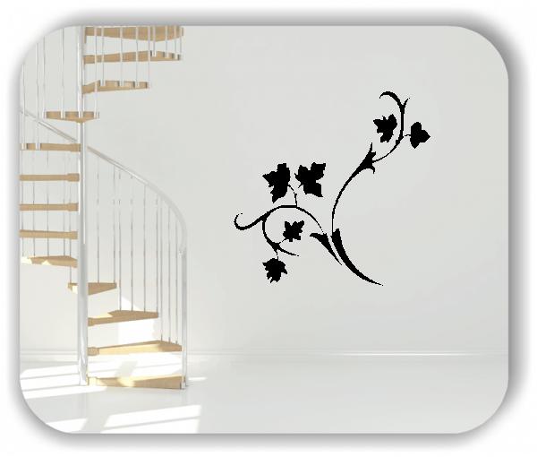 Wandtattoo - Florale Blumen & Blätter - Motiv 2847