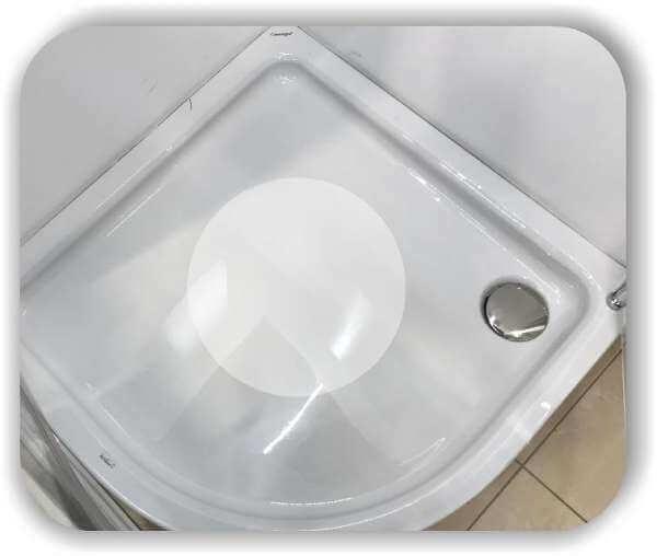 Anti-Rutsch Folie - Kreise - 65 cm Durchmesser - 1 Stück