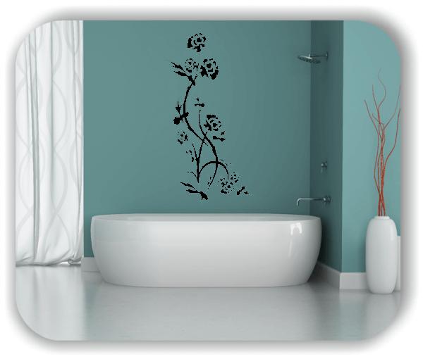 Wandtattoo - China Floral - ab 50x97,5 cm - Motiv 3186