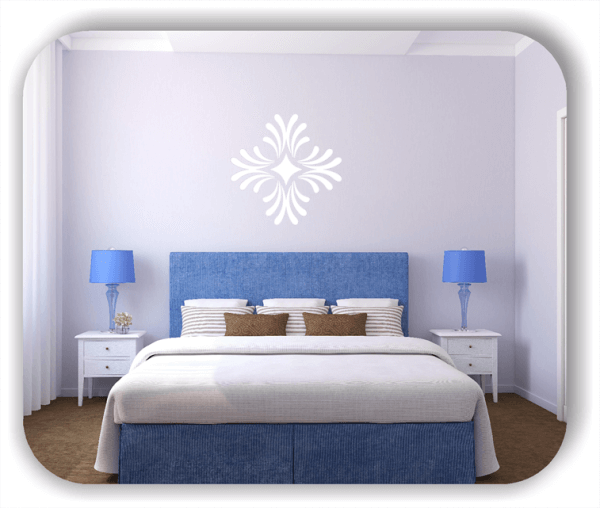 Wandtattoo - Florale Dingbats - ab 50x50 cm - Motiv 4103
