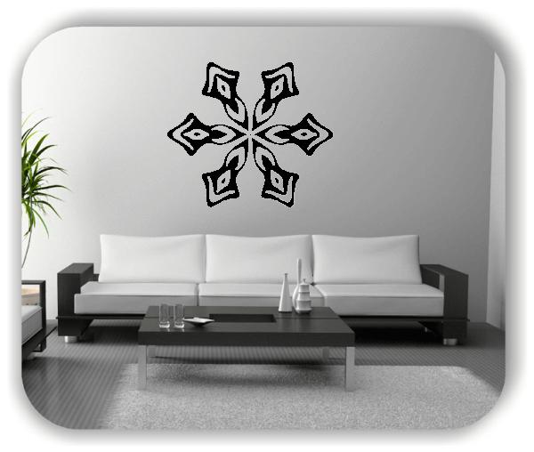 Wandtattoo - Snowflakes - ab 50x43 cm - Motiv 2564