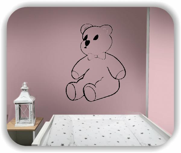 Wandtattoo - Teddybär