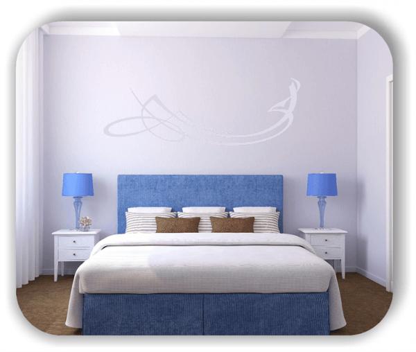 Wandtattoo - Schnörkel Design - ab 60 x 20 cm - Motiv 33