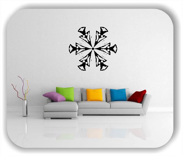 Wandtattoo - Snowflakes - ab 50x47 cm - Motiv 2515