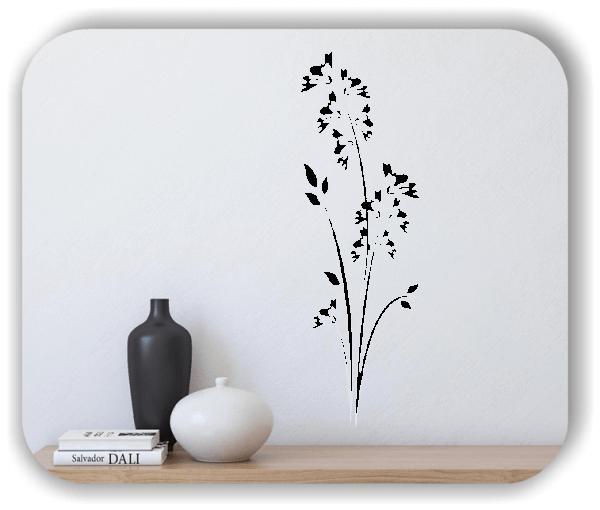 Wandtattoo - Japan Floral - ab 20x60 cm - Motiv 3277