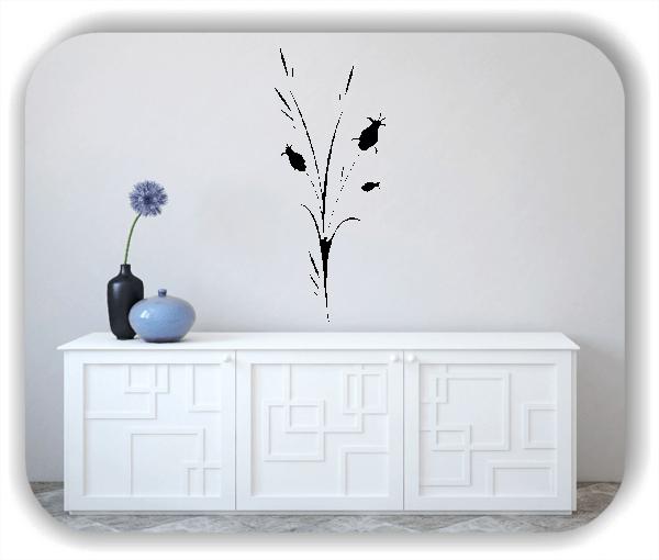 Wandtattoo - Japan Floral - ab 25x60 cm - Motiv 3258
