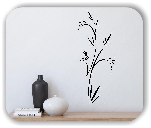 Wandtattoo - Japan Floral - ab 25x60 cm - Motiv 3254