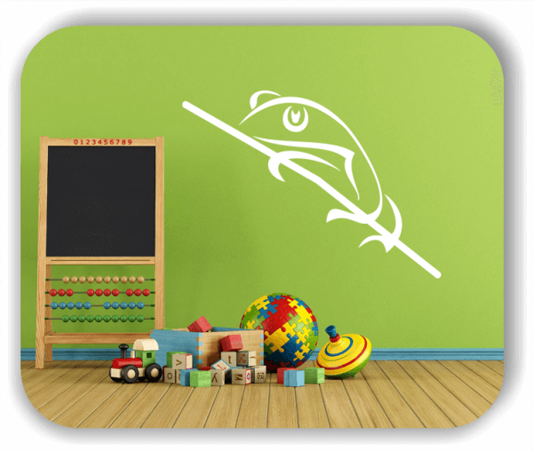 Wandtattoo - Tiersilhouette - ab 50x36 cm - Frosch