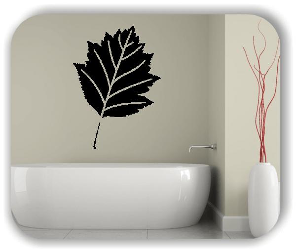 Wandtattoo - ab 50x70cm - Blätter - Motiv 8249