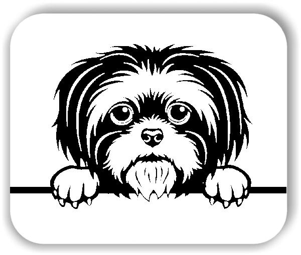 Wandtattoo - Hunde - Shih Tzu - ohne Rassename