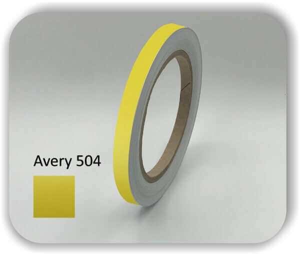 9 mm gelbe Zierstreifen für Auto, Motorrad & Boot Car Stripe