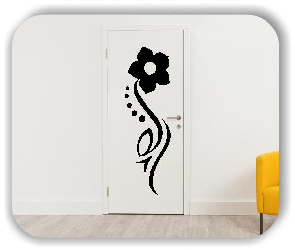 Wandtattoo - Florale Blumen & Blätter - Motiv 97