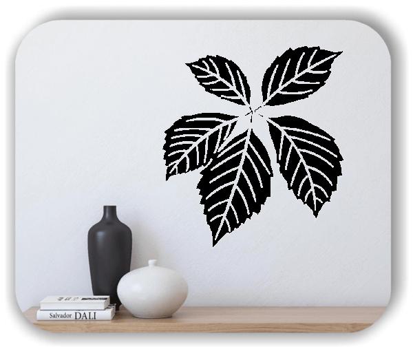 Wandtattoo - ab 50x55cm - Blätter - Motiv 8257