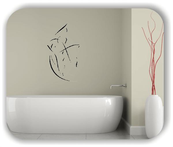 Wandtattoo - Tier Silhouette - ab 50x80 cm - Fisch