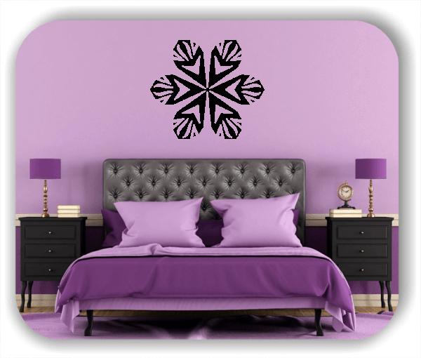 Wandtattoo - Snowflakes - ab 50x43 cm - Motiv 2556