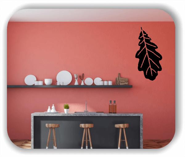 Wandtattoo - ab 50x97,5cm - Blätter - Motiv 8228