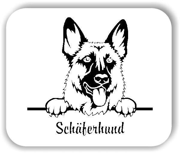 Wandtattoo - Hunde - Schäferhund