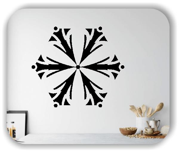 Wandtattoo - Snowflakes - ab 50x43 cm - Motiv 2549