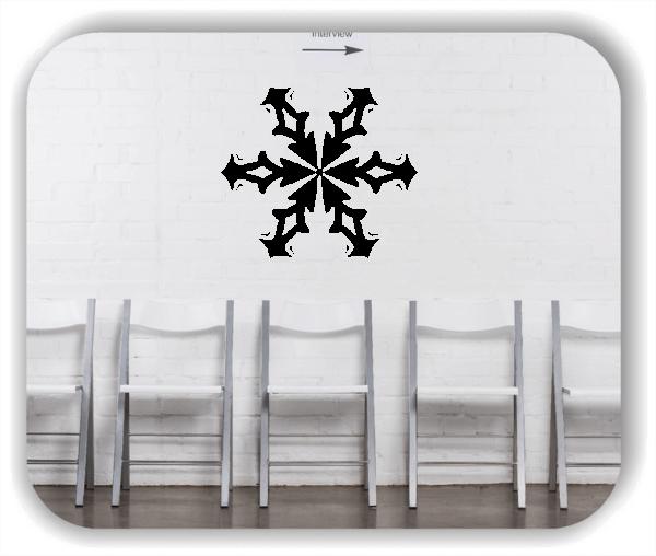 Wandtattoo - Snowflakes - ab 50x43 cm - Motiv 2579