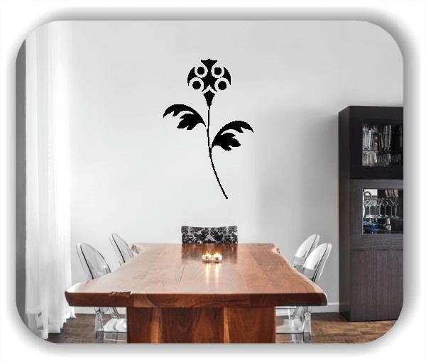 Wandtattoo - Schnittblumen - ab 32x50 cm - Motiv 9041