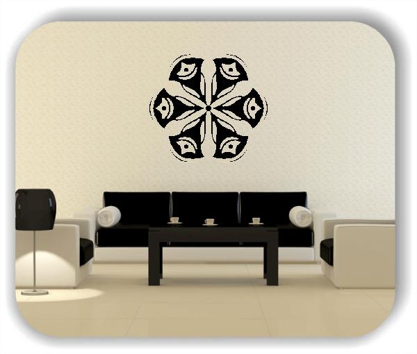 Wandtattoo - Snowflakes - ab 50x47 cm - Motiv 2523