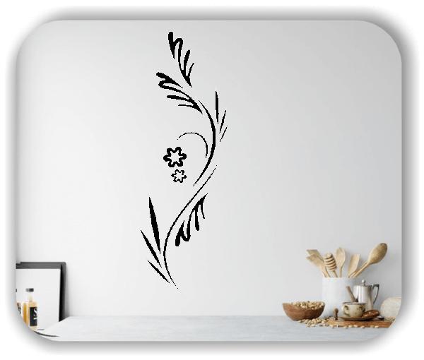 Wandtattoo - Japan Floral - ab 20x60 cm - Motiv 3271