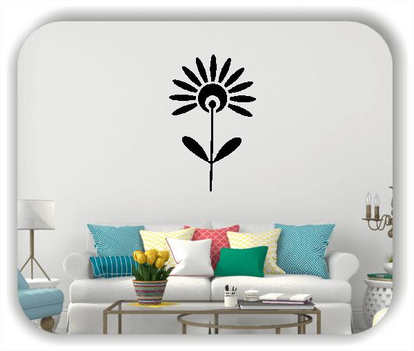 Wandtattoo - Schnittblumen - ab 32x50 cm - Motiv 9035