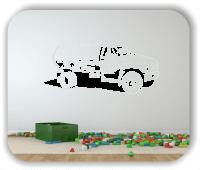 Wandtattoo - ab 50x23 cm - Tanker