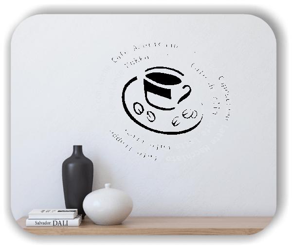 Wandtattoo - Kaffeeschnecke