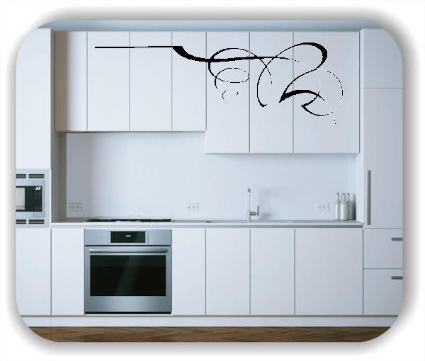 Wandtattoo - Schnörkel Design - ab 60 x 20 cm - Motiv 42