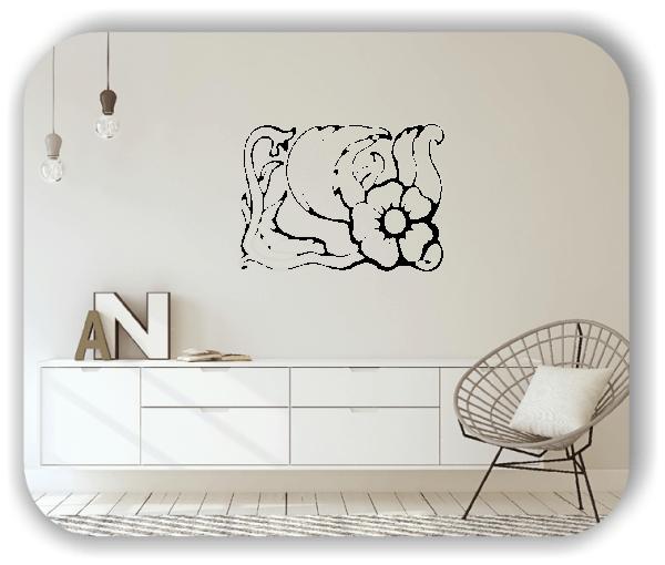 Wandtattoo - Natur Ornamente - ab 60 x 43 cm - Motiv 16