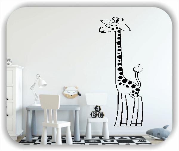 Wandtattoo - Giraffe