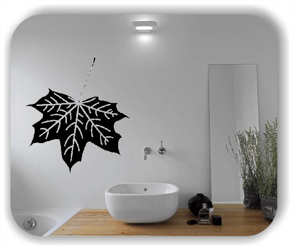 Wandtattoo - ab 50x55cm - Blätter - Motiv 8255