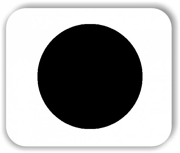 Folien Punkt - Selbstklebend - 1 Punkt a 25 cm