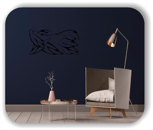 Wandtattoo - Natur Ornamente - ab 50 x 25 cm - Motiv 88