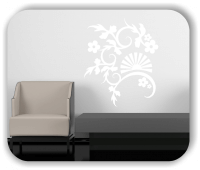 Wandtattoo - China Floral - ab 50x60 cm - Motiv 3170