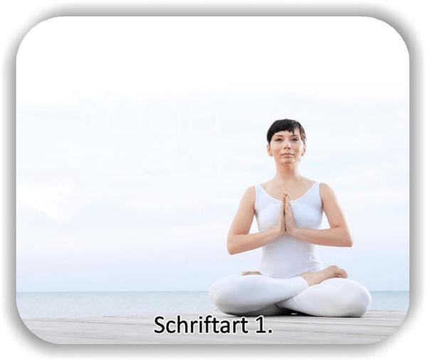 Wandtattoo - Yoga