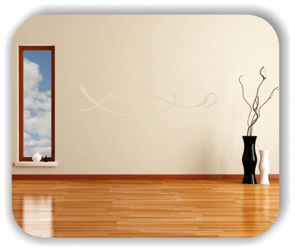 Wandtattoo - Schnörkel Design - ab 60 x 15 cm - Motiv 23