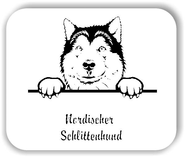 Wandtattoo - Hunde - Nordischer Schlittenhund