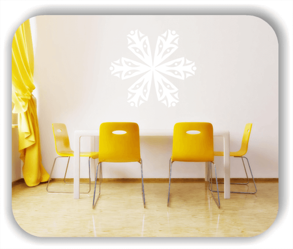 Wandtattoo - Snowflakes - ab 50x43 cm - Motiv 2567