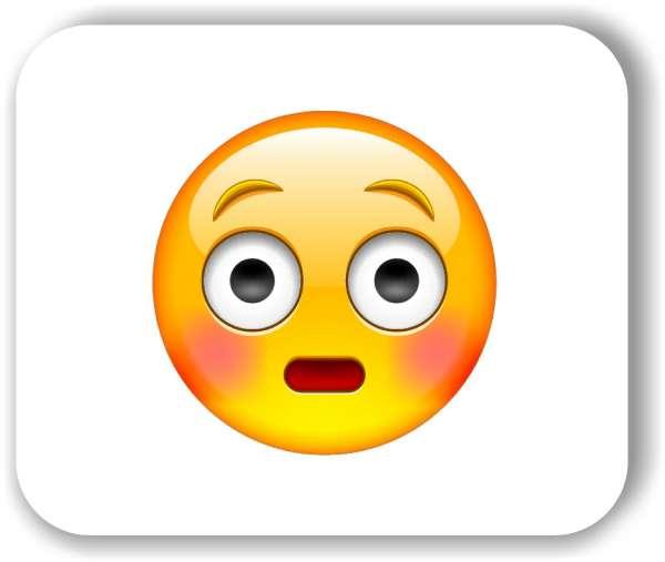 Strichgesicht - Errötetes Gesicht