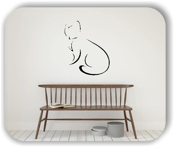 Wandtattoo - Tier Silhouette - ab 50x60 cm - Fuchs