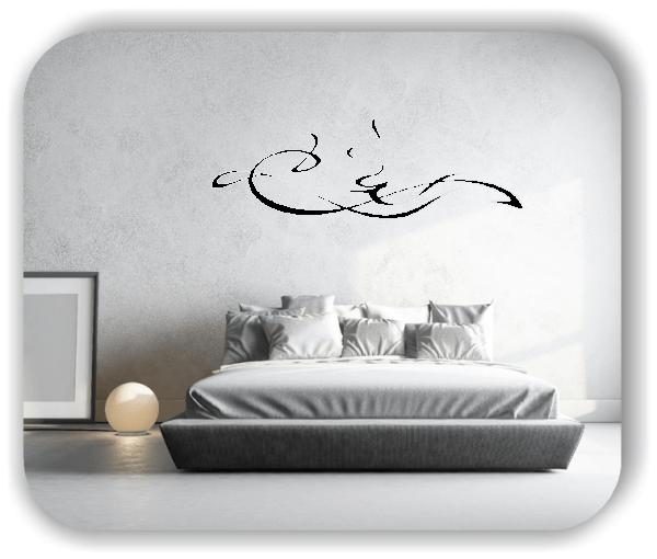 Wandtattoo - Schnörkel Design - ab 60 x 20 cm - Motiv 35