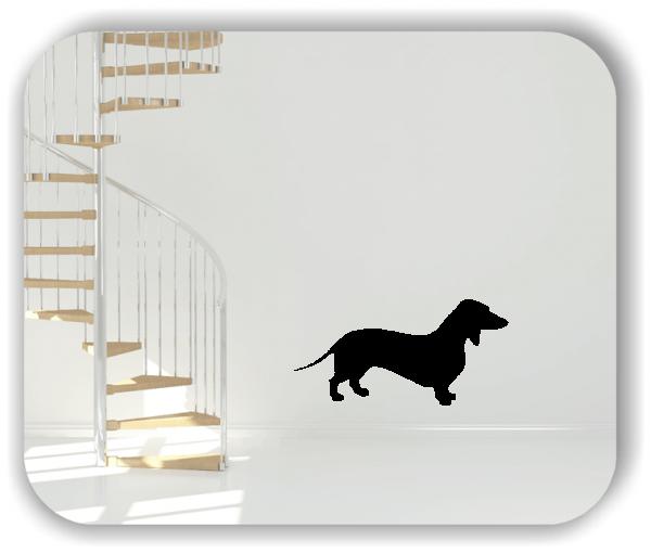 Wandtattoo - Hunde - Dackel