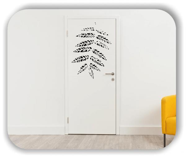 Wandtattoo - ab 50x70cm - Blätter - Motiv 8248