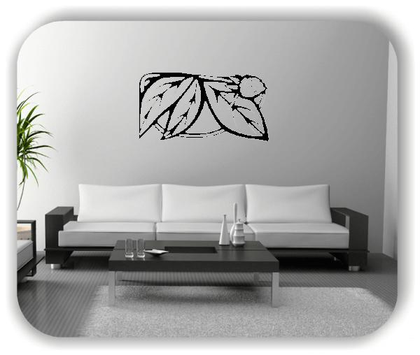 Wandtattoo - Natur Ornamente - ab 50 x 25 cm - Motiv 67