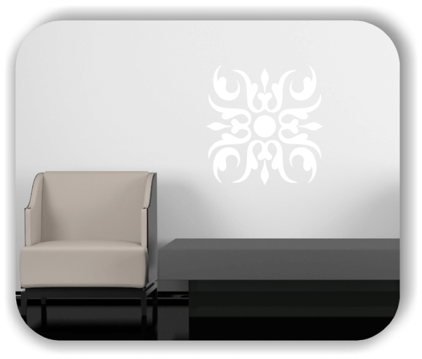 Wandtattoo - Florale Dingbats - ab 50x50 cm - Motiv 4107