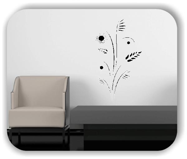 Wandtattoo - Japan Floral - ab 33x60 cm - Motiv 3233